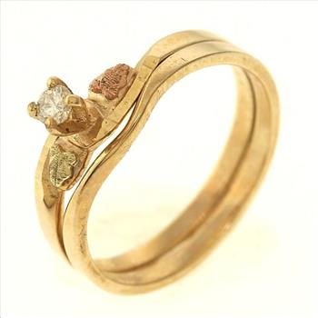 2 6 gram 10kt gold ring set property room