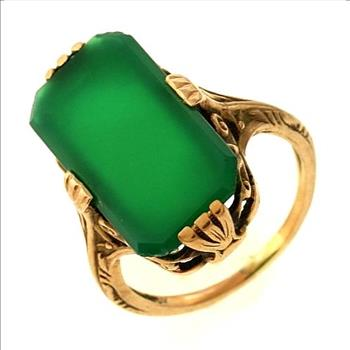 cz item gold vintage square classic emerald stone from jewelry austria green austrian red genuine in rings ring women engagement rectangle fashion crystal luxury plated prong