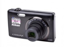 "Nikon COOLPIX 16MP Digital HD Camera w/WiFi & 3"" LCD"