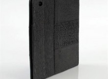 Nina Raye! Black Leather iPad Case! Made from Genuine Shark Leather! List $750