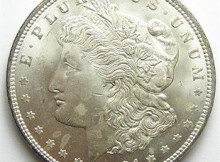 Uncirculated 1921 Morgan Silver Dollar