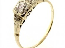 0.37ctw Diamond 14kt Gold Ring