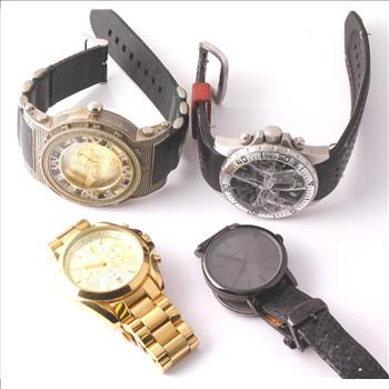 Michael Kors, Techno King and more, 4 Watches