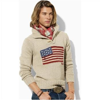 Property Ralph Flag Polo LRetail165 Men's SweaterSize Lauren 80yvnmOPwN