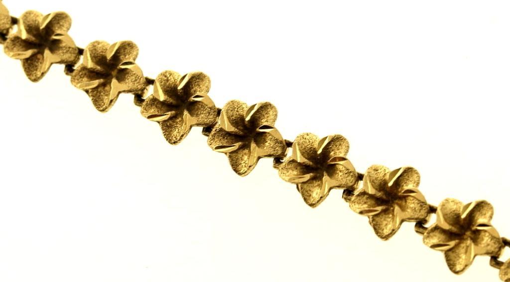 7.5 Gram 14kt Yellow Gold Bracelet