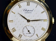 Limited Edition Chopard Jose Carreras Solid 18K Gold Watch