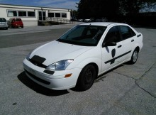 2001 Ford Focus LX, Valued at $1,842