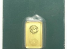 5 Gram .9999 Fine Gold Perth Mint Bar, Individually Serial Numbered