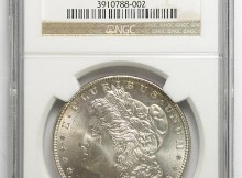 GEM BU NGC Slabbed MS-65 1886 Morgan Silver Dollar (Tough To Find In This Condition)