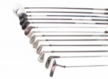 Adams Golf And Other Golf Clubs, 13 Clubs