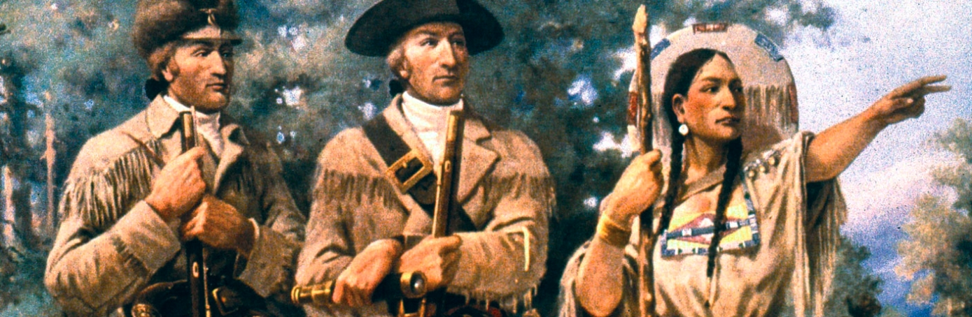 sacagawea with lewis and clark